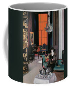 Interior - The Orange Blind, C.1928 Coffee Mug