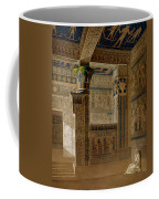 Interior View Of The West Temple Coffee Mug by Le Pere