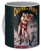 International Wrestling Championship Coffee Mug