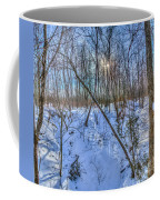 Intersecting Snow Streams Coffee Mug