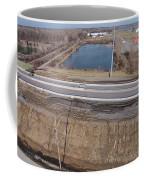 Interstate 75 Construction Ohio Aerial Coffee Mug