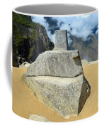 Inti Watana Stone Calendar At Machu Picchu Coffee Mug
