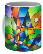 Into The Wind Coffee Mug