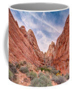 Into Valley Of Fire Coffee Mug