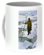Inuit Seal Hunter Barrow Alaska July 1969 Coffee Mug