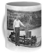 Inventor Of First Snowmobile Coffee Mug