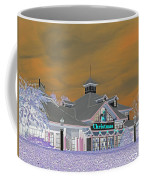 Invert Of The Apple Barn's Christmas Shop In Pigeon Forge Tennessee Coffee Mug