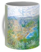 Invisible World Over Landscape Coffee Mug