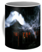 Invisibles Visiters From Beyond Flying In Over Night  Coffee Mug