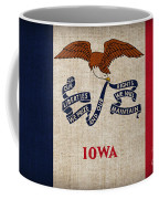Iowa State Flag Coffee Mug by Pixel Chimp