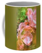Iphone Pink Rose Digital Paint Coffee Mug