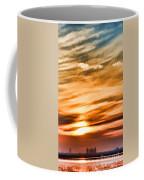 Iphone Sunset Digital Paint Coffee Mug