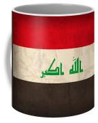 Iraq Flag Vintage Distressed Finish Coffee Mug by Design Turnpike
