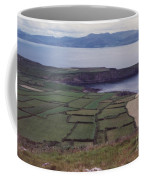Ireland Emerald Isle Fields By Jrr Coffee Mug