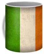 Ireland Flag Vintage Distressed Finish Coffee Mug by Design Turnpike