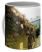 Ireland Floral Vine-topped Brick Wall Coffee Mug