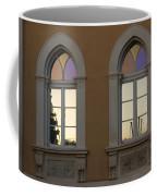 Iridescent Pastels At Sunset - Syracuse Arched Windows Coffee Mug