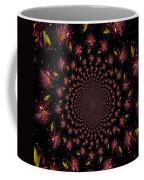 Iris And Foliage Coffee Mug