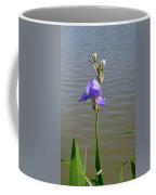 Iris At The Lake Coffee Mug