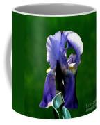 Iris Blues Coffee Mug