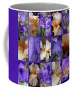 Iris Collage Coffee Mug