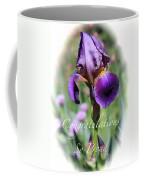 Iris Congratulations Card Coffee Mug
