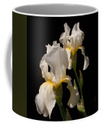 Iris Cream Coffee Mug