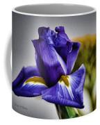 Iris Flower Macro Coffee Mug