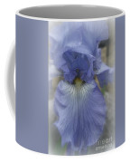 Iris Heart Coffee Mug by Kay Novy