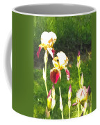 Iris In Watercolor Coffee Mug
