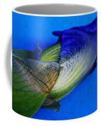 Iris On Blue Coffee Mug