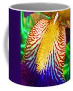 Iris Petal By Jan Marvin Coffee Mug