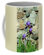 Iris Portrait Coffee Mug