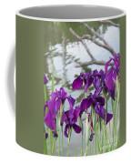 Iris Purple Lavender Coffee Mug