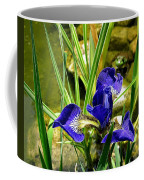 Iris With Frog Coffee Mug