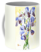 Irises Aglow Coffee Mug by Kip DeVore