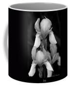 Irises In Black And White Coffee Mug