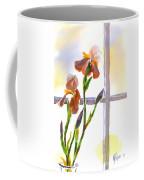 Irises In The Window Coffee Mug