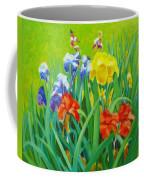Irises On The West Lawn 1 Coffee Mug