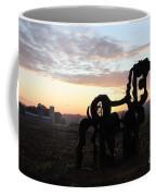 Iron Horse Keeping Watch Coffee Mug