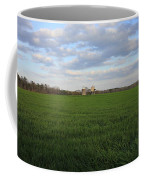Great Friends Iron Horse Wheat Field And Silos Coffee Mug