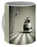 Iron Coffee Mug by Les Cunliffe