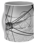 Irrigation Pipe In Winter Coffee Mug
