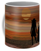 Is Daddy In Heaven Now - Featured In Contours And Silhouettes - Cards For All Occ -nature Wildlife Coffee Mug