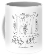 Is There A Doctor Of Literature In The House? Coffee Mug