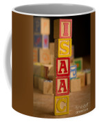 Isaac - Alphabet Blocks Coffee Mug