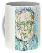 Isaac Asimov Portrait Coffee Mug