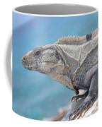 Isla Mujeres Iguana Coffee Mug