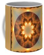 Island Beach Sunset Mandala Coffee Mug