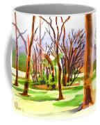 Island In The Wood Coffee Mug